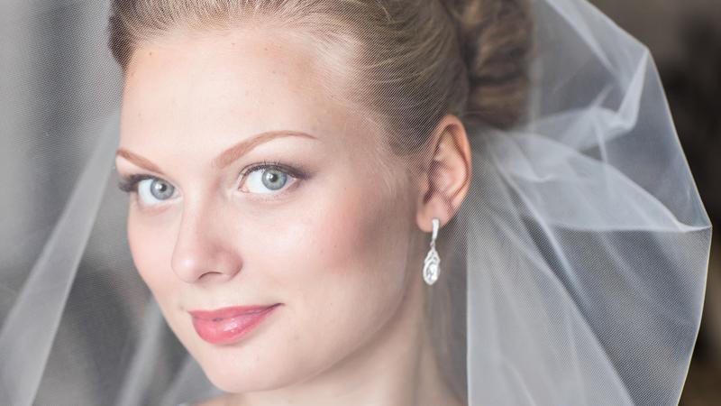 Braut mit Make up Beratung Simone Schmid