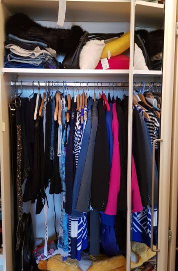 Kleiderschrank vor dem Kleiderschrank-Check